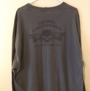 Harley Davidson Laconia NH Long Sleeve Tee